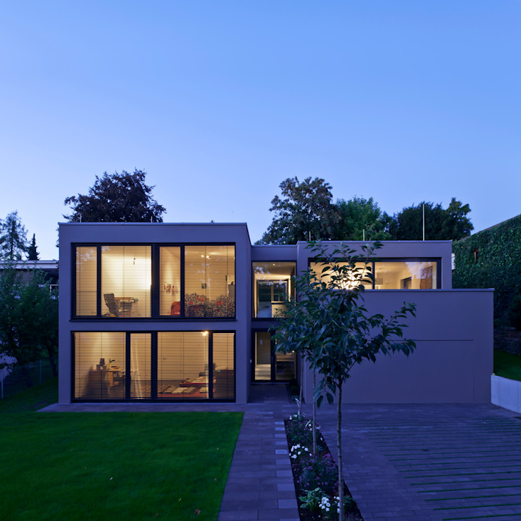 Architekturbüro Dongus Casas modernas