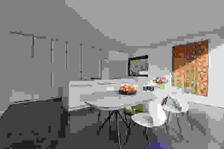 Architekturbüro Dongus Sala da pranzo moderna