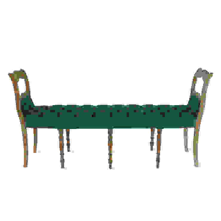 Chesterfield bankje van Lifecycle Art & Furniture Eclectisch