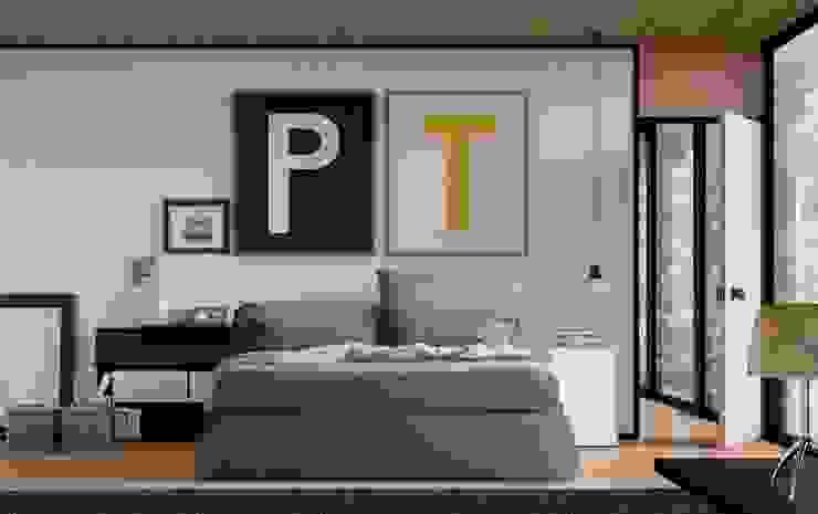 Oriente Bed: modern  by Campbell Watson, Modern