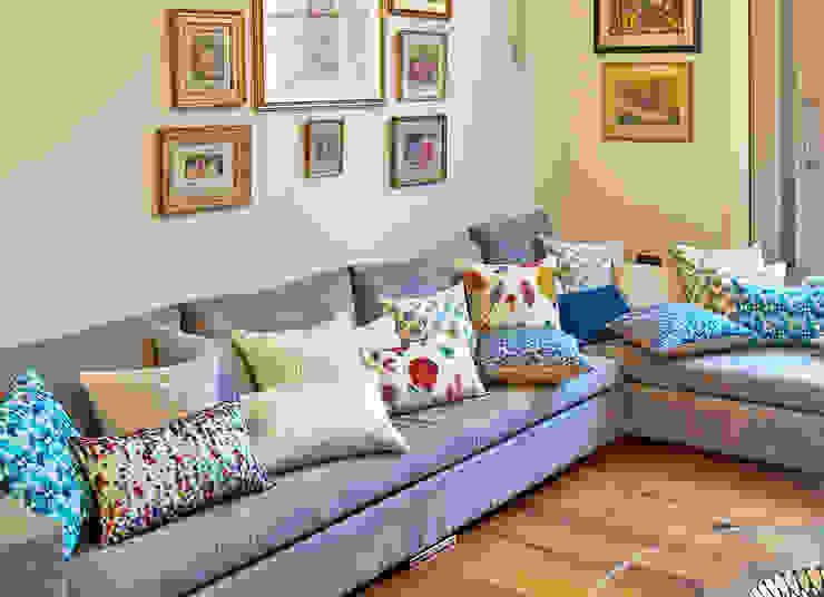 Hand Smocked and Printed Cushion Collection : modern  by Nitin Goyal London, Modern