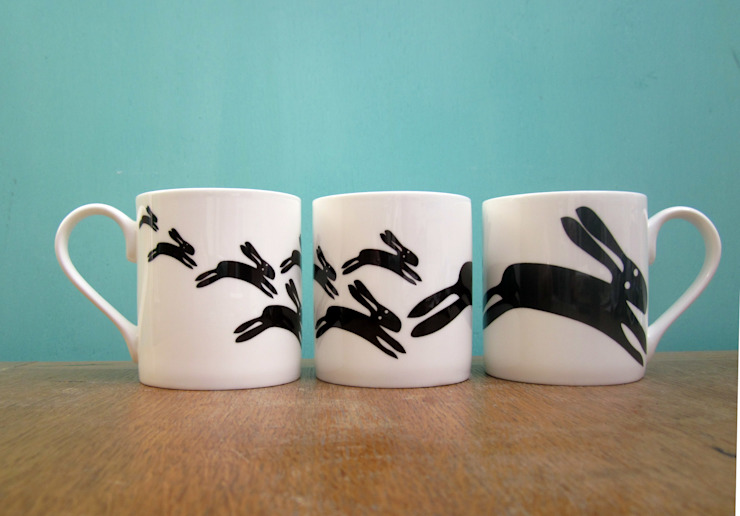 Black Rabbit mug: eclectic  by The Black Rabbit, Eclectic