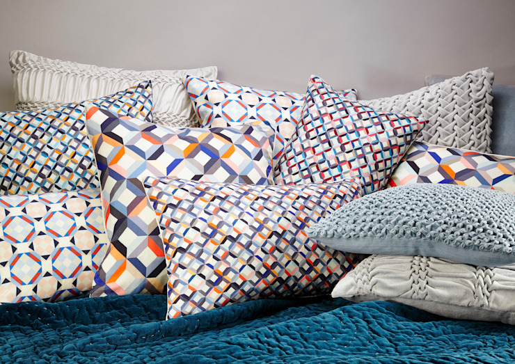 Silk Printed Collection Nitin Goyal London BedroomTextiles