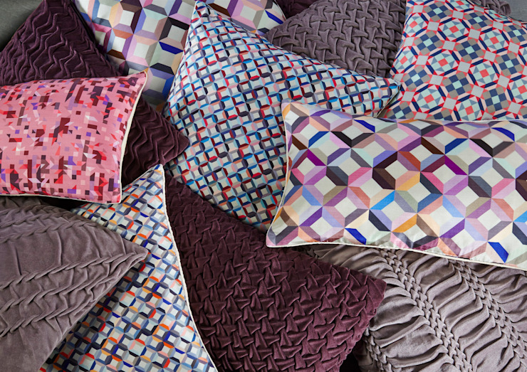 Hand Smocked and Silk Printed Collection Nitin Goyal London BedroomTextiles