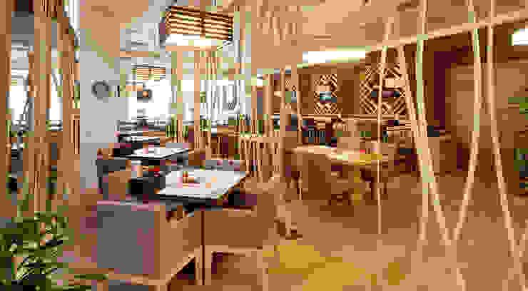 Ресторан МЕНЗА Бары и клубы в эклектичном стиле от Студия Максима Рубцова. Эклектичный