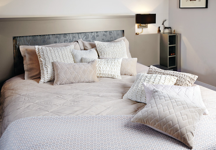 Hand Smocked and Quilted Collection Nitin Goyal London BedroomTextiles