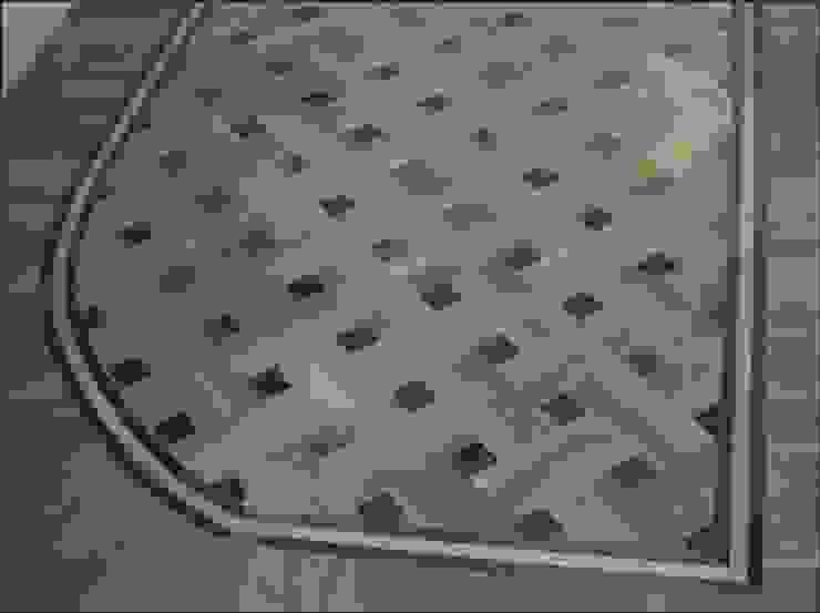 Basket Weave - Parquet Pattern Modern media room by Luxury Wood Flooring Ltd Modern