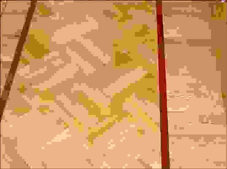 Diagonal Basket Weave - Parquet Pattern Modern corridor, hallway & stairs by Luxury Wood Flooring Ltd Modern