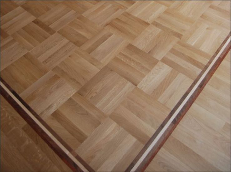 Five Finger Mosaic Parquet flooring by Luxury Wood Flooring Ltd Classic