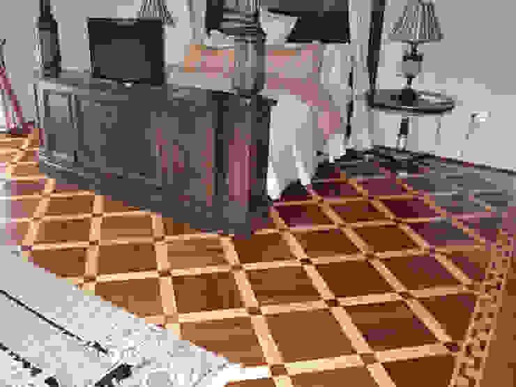 "Parquet Pattern ""Metz"" Modern style bedroom by Luxury Wood Flooring Ltd Modern"
