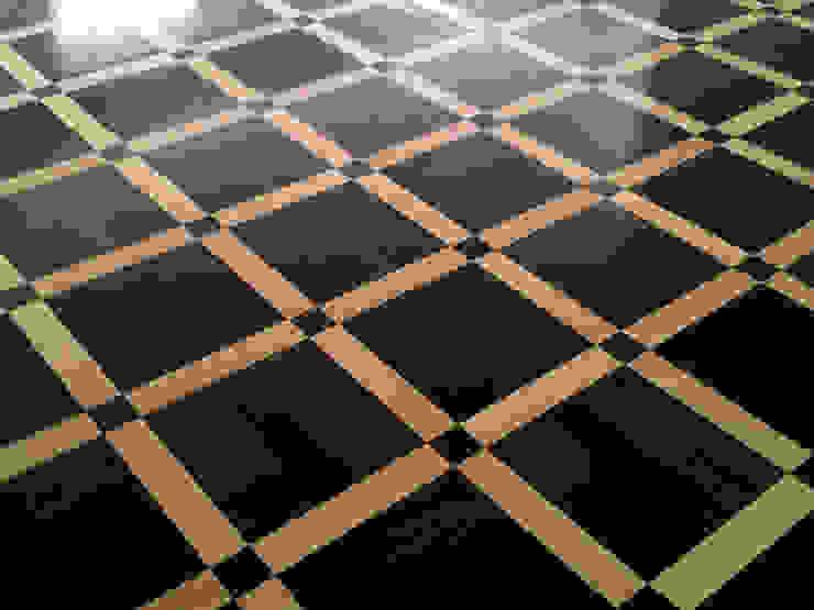 "Parquet Pattern ""Metz"" Modern living room by Luxury Wood Flooring Ltd Modern"