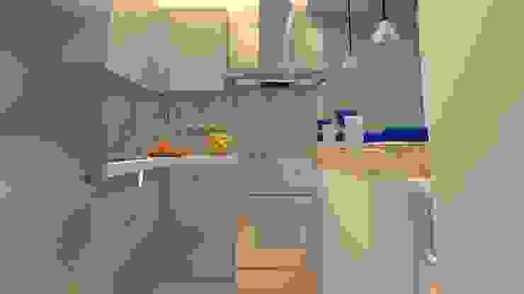 AV. CENTRAL Cocinas modernas de ARDIN INTERIORISMO Moderno