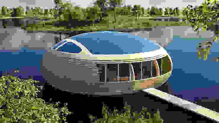 WaterNest Casas modernas por Giancarlo Zema Design Group Moderno