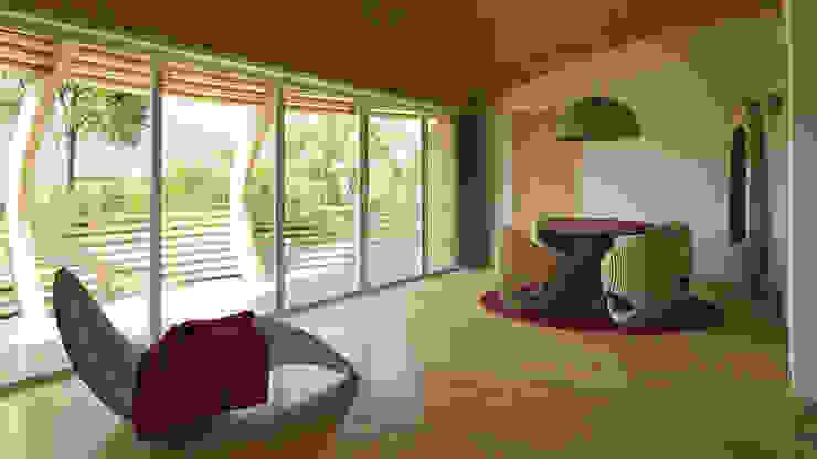 WaterNest Salas de jantar modernas por Giancarlo Zema Design Group Moderno