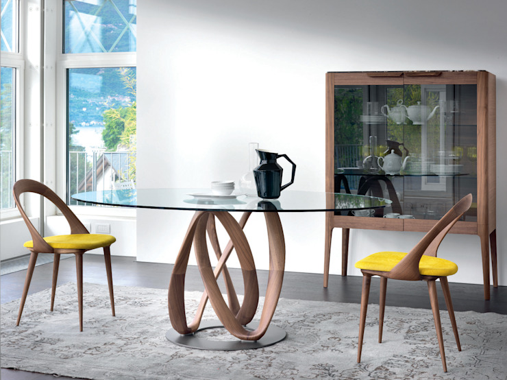 Infinity Table by Porada: modern  by Campbell Watson, Modern