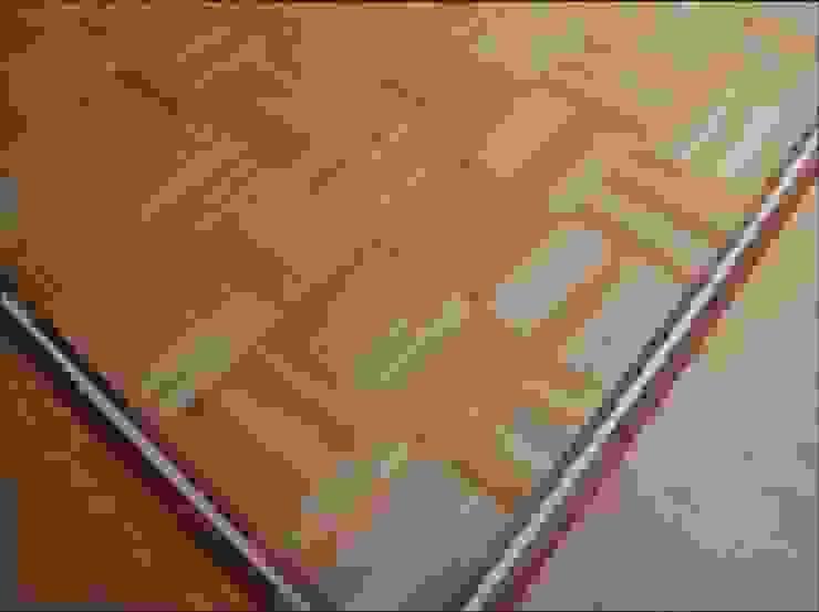 Five Finger Mosaic Parquet flooring Classic style living room by Artistico UK Ltd Classic