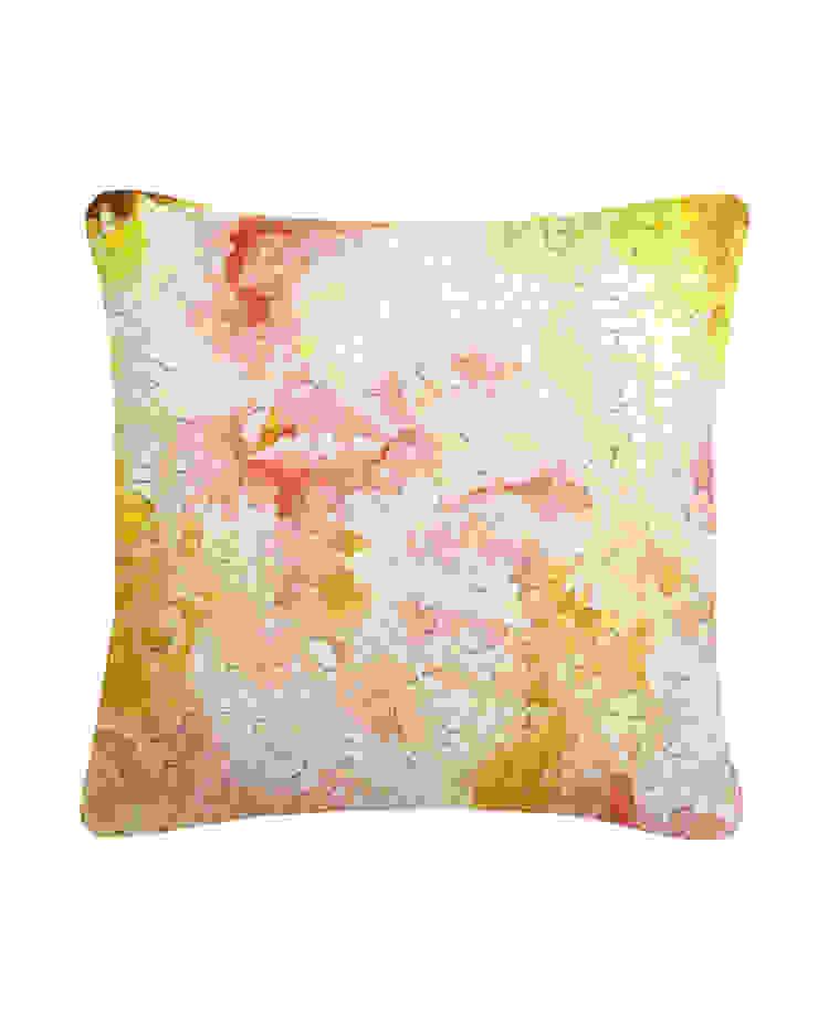 Clarity Mosaic Silk Cushion, 45x45cm Nitin Goyal London BedroomTextiles
