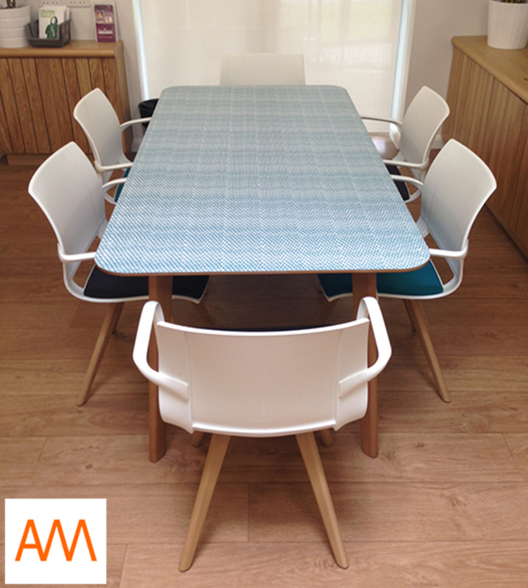 Meeting Table for Macmillan Cancer Centre Runcorn Minimalist hospitals by Alison Milner Minimalist
