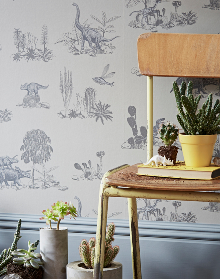 Dino Grey Wallpaper: country  by Sian Zeng, Country
