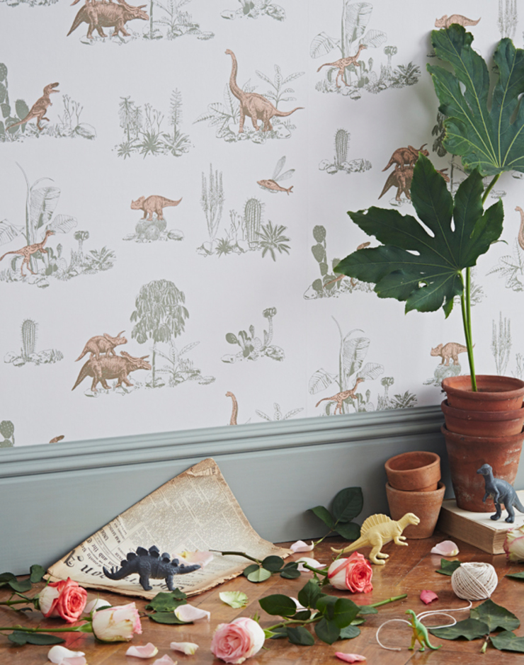 Dino Wallpaper Pink Green: country  by Sian Zeng, Country