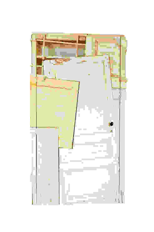 Gentse deuren: modern  door Chris Ruhe Meubelkunst, Modern