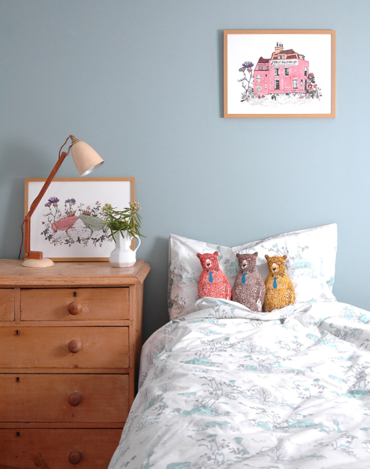 Woodlands Bed Linen : country  by Sian Zeng, Country