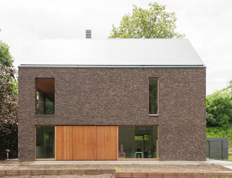 H118 Moderne huizen van das - design en architectuur studio bvba Modern