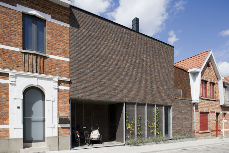 Modern houses by das - design en architectuur studio bvba Modern