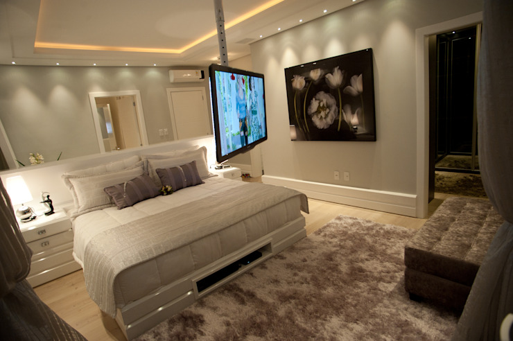Modern style bedroom by Paulinho Peres Group Modern