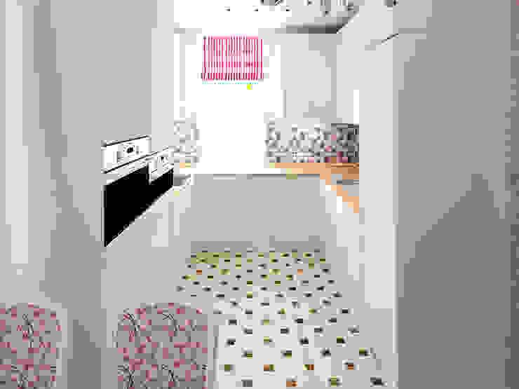 Душевный интерьер Кухня в классическом стиле от Дизайн студия Александра Скирды ВЕРСАЛЬПРОЕКТ Классический