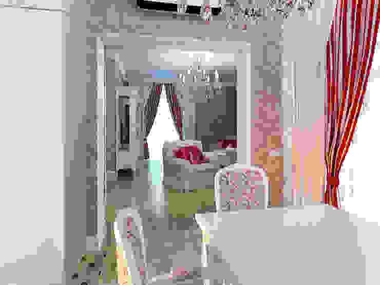Душевный интерьер Столовая комната в классическом стиле от Дизайн студия Александра Скирды ВЕРСАЛЬПРОЕКТ Классический