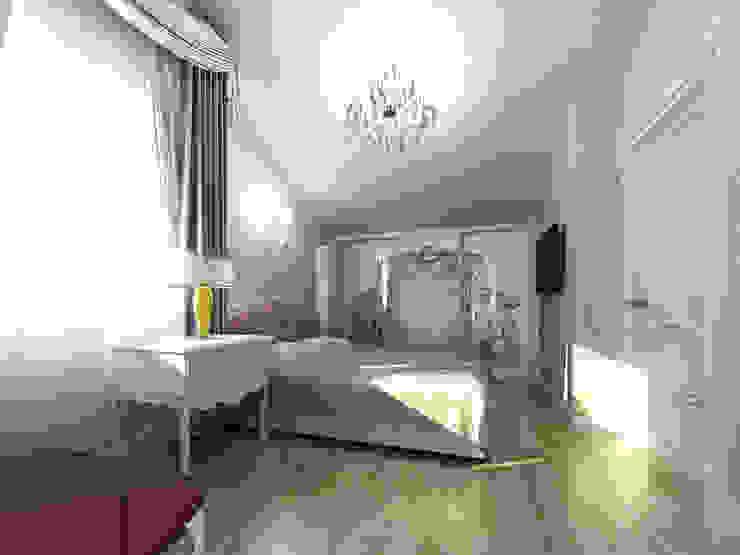 Душевный интерьер Спальня в классическом стиле от Дизайн студия Александра Скирды ВЕРСАЛЬПРОЕКТ Классический