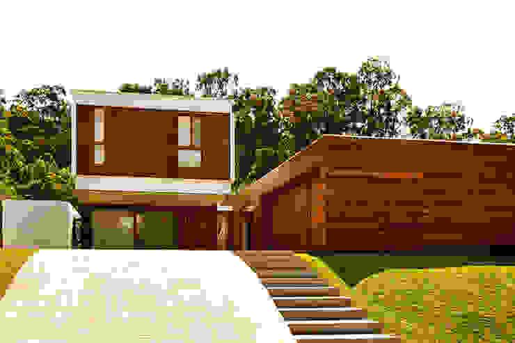 CASA HAACK Casas modernas por 4D Arquitetura Moderno