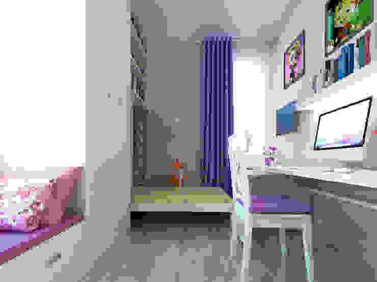 Душевный интерьер Детские комната в эклектичном стиле от Дизайн студия Александра Скирды ВЕРСАЛЬПРОЕКТ Эклектичный