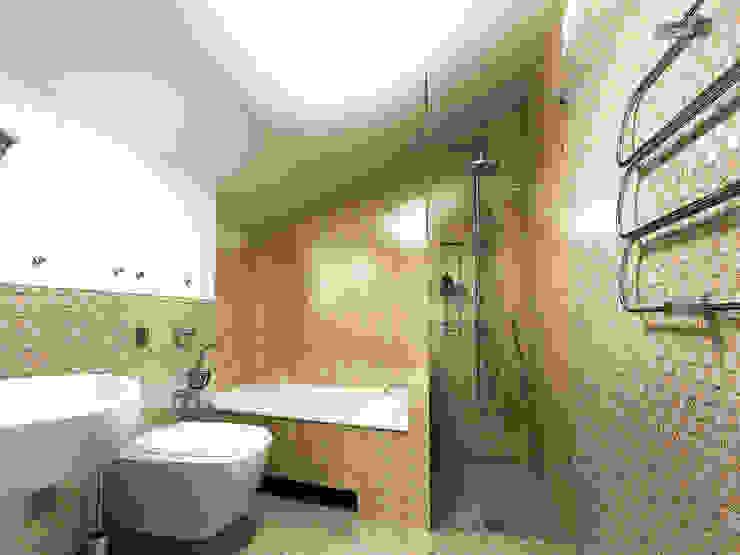 Душевный интерьер Ванная в классическом стиле от Дизайн студия Александра Скирды ВЕРСАЛЬПРОЕКТ Классический