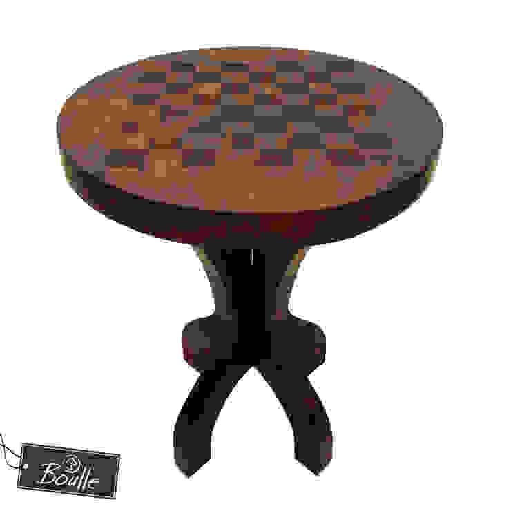 Mesa de Xadrez por Boulle Rústico