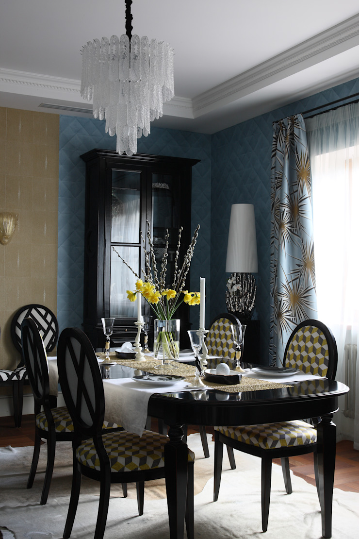 Roberts Design Eclectic style dining room