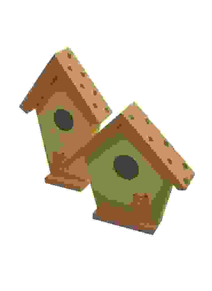 Domki dla ptaków 3D od Zuzu Design Nowoczesny