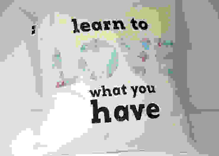 learn to love what you have od MAQUDESIGN Minimalistyczny