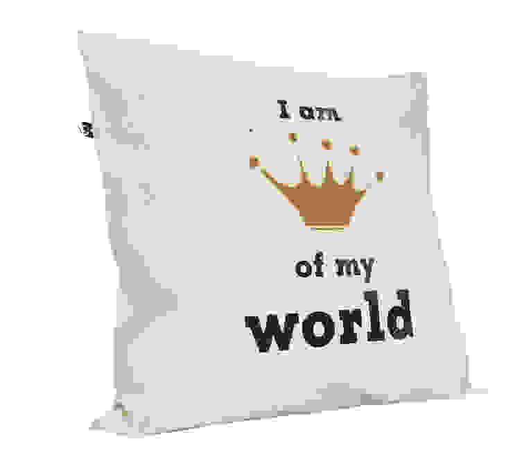I am queen/king of my World od MAQUDESIGN Minimalistyczny