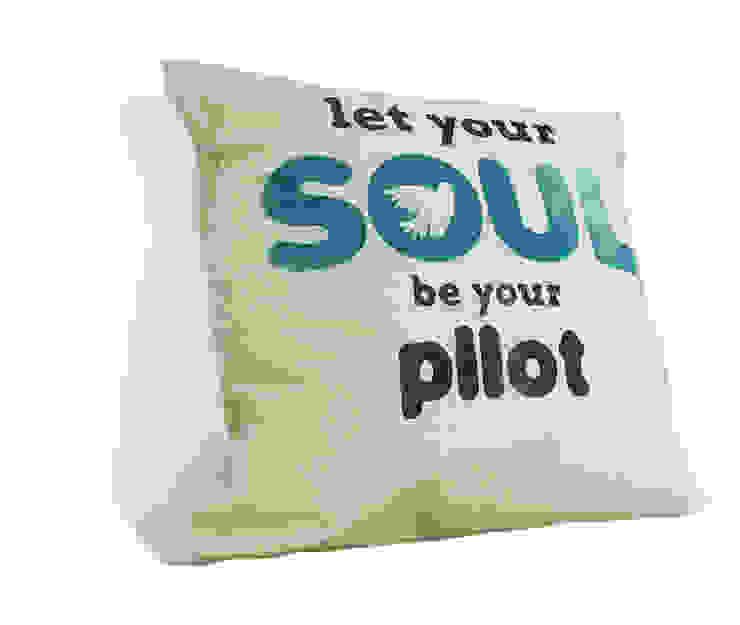 let your soul be your PILOT od MAQUDESIGN Minimalistyczny