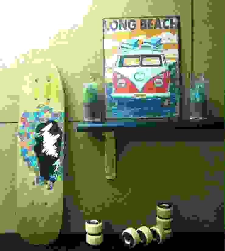 - Mini Skateboard - Woman magical colors de fourbars.bcn Moderno