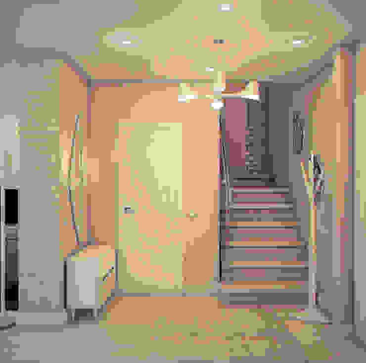 ミニマルスタイルの 玄関&廊下&階段 の Marina Sarkisyan ミニマル