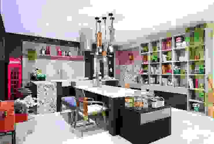 Adriana Scartaris: Design e Interiores em São Paulo Cocinas de estilo ecléctico