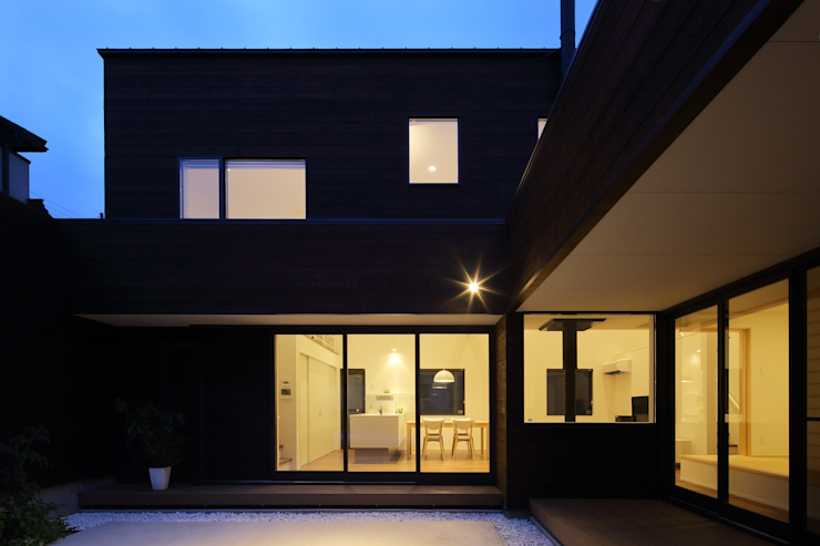 House in Fukuchiyama ミニマルな 家 の arakawa Architects & Associates ミニマル
