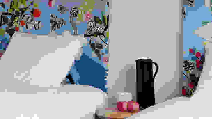 pokój Konik Garbusek od Studio Projektowe RoRO interior + design Eklektyczny