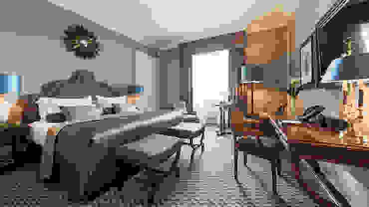 Zimmer - Hotel Interiordesign aus Berlin Klassische Hotels von homify Klassisch