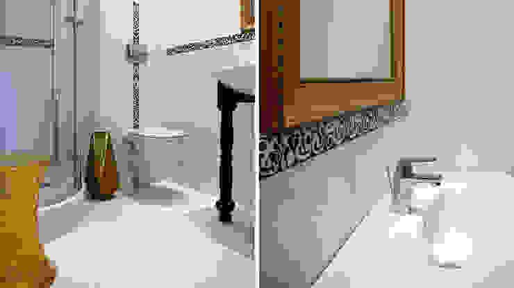 pokój Dama z Pieskiem od Studio Projektowe RoRO interior + design Eklektyczny