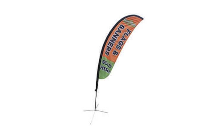 Design Custom Feather Flag Online from Banner Buzz UK for Use Indoors and Outdoors by Banner Buzz