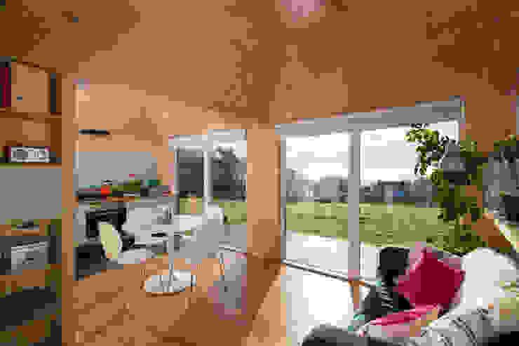 Brockloch Bothy Interior Modern kitchen by Echo Living Modern